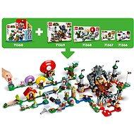LEGO® Super Mario ™ 71377 Král Boo a strašidelný dvůr – rozšiřující set - LEGO stavebnice