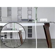 LABEL THE CABLE LTC PRO 5120 CABLE TUBE WHITE 25 m - Organizér kabelů
