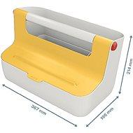Leitz Cosy MyBox žlutá - Úložný box