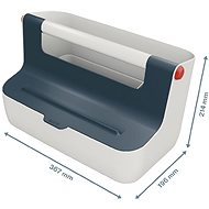 Leitz Cosy MyBox šedá - Úložný box