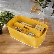 Leitz Cosy MyBox organizér s držadlem, žlutá - Úložný box