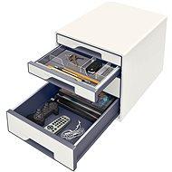 Leitz WOW CUBE bílý - Zásuvkový box