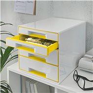 Leitz WOW CUBE žlutý - Zásuvkový box