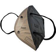 Černý respirátor FFP2 - 5ks  - Respirátor