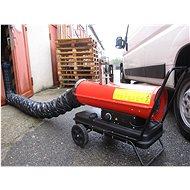 MA-TECH Naftové topidlo 20 kW s odvodem spalin - Topidlo