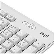 Logitech Wireless Combo MK295, bílá - US INTL - Set klávesnice a myši