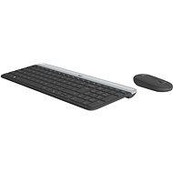 Logitech Slim Wireless Combo MK470 - CZ/SK - Set klávesnice a myši