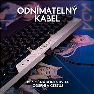 Logitech G PRO Mechanical Gaming Keyboard K/DA edice - US INTL - Herní klávesnice