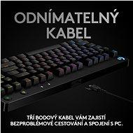 Logitech G PRO Mechanical Gaming Keyboard (2019) - CZ/SK - Herní klávesnice