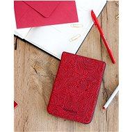 PocketBook HPUC-632-R-F Red Flowers - Pouzdro na čtečku knih