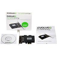 EVOLVEO 2x SATA III PCIe, rozšiřující karta - Rozšiřující karta