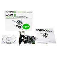 EVOLVEO Serial RS232 & LPT PCIe, rozšiřující karta - Rozšiřující karta