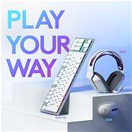 Logitech G305 Recoil bílá - Herní myš