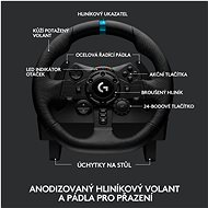 Logitech G923 Driving Force pro PC/PS5/PS4 - Volant