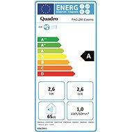 QUADRO PAC-260 ESKIMO - Mobilní klimatizace