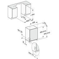 MIELE G 5055 SCVi XXL Active - Vestavná myčka