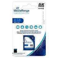 MEDIARANGE SDHC 4GB Class 10 - Paměťová karta
