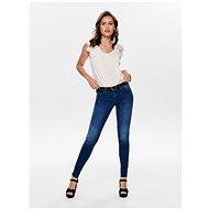 ONLY Modré shape up skinny fit džíny Carmen M 28/34 - Džíny