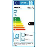 MORA VT 433 BW + MORA VDST 633 C - Set spotřebičů