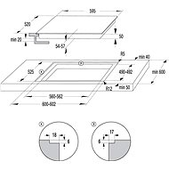 MORA VTS 537 BX + MORA VDST 651 FF - Set trouba a varná deska