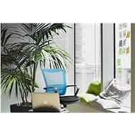 MOSH AIRFLOW-306 tyrkysová - Kancelářské křeslo