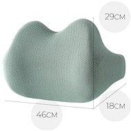 MOSH ERGO2 B1 Lumbar -  zelená - Bederní opěrka