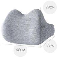MOSH ERGO2 B1 Lumbar - šedá - Bederní opěrka