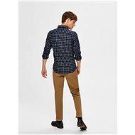 Tmavě modrá kostkovaná košile Selected Homme Flannel XXL - Košile