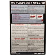K&N KA-0007 pro Kawasaki ZXR 750R L1-L3/M1-M3 (93-95) - Vzduchový filtr