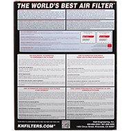 K&N KT-1211 pro KTM 125/200/250/390 Duke (11-16) - Vzduchový filtr