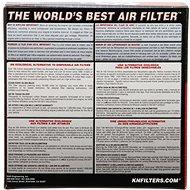 K&N do air-boxu, YA-1892 pro Yamaha XS650 S (80-83) - Vzduchový filtr