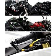 M-Style Race CNC chrániče páček - červené - Chrániče