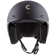 CASSIDA Oxygen Rondo, (černá matná/zlatá, vel. L) - Helma na motorku