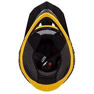 CASSIDA LIBOR PODMOL limitovaná edice, (dětská černá matná/žlutá/šedá, vel. M) - Helma na motorku