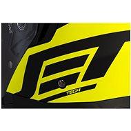 CASSIDA Jet Tech Corso, (černá matná/žlutá fluo, vel. XS) - Helma na motorku