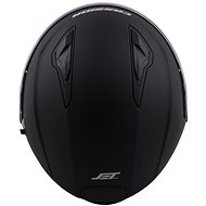 CASSIDA Jet Tech, (černá matná/fialová loga, vel. L) - Helma na motorku