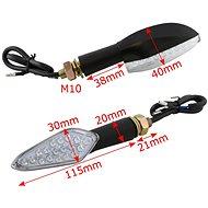 M-Style LED blinkr 2101L  - Blinkry na motorku