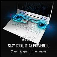 MSI Stealth 15M A11SDK-041CZ celokovový - Herní notebook