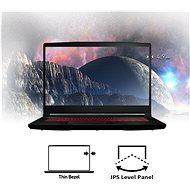 MSI GF63 Thin 10SC-207CZ kovový - Herní notebook