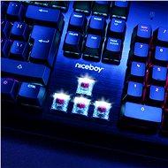 Niceboy ORYX K444 Mechanicus - CZ - Herní klávesnice