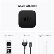 Apple TV 4K 2021 64GB - Multimediální centrum
