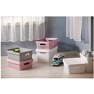 Curver INFINITY DOTS box 17L - růžový - Box