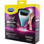 SCHOLL Velvet Smooth Wet&Dry - Elektrický pilník