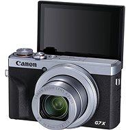 Canon PowerShot G7 X Mark III Battery Kit stříbrný - Digitální fotoaparát