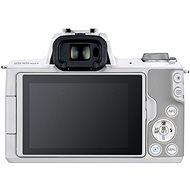 Canon EOS M50 Mark II bílý+ EF-M 15-45 mm f/3.5-6.3 IS STM - Digitální fotoaparát