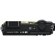 Nikon COOLPIX W300 maskáčový + 2v1 plovoucí popruh - Digitální fotoaparát