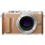 Olympus PEN E-PL9 hnědý + M.Zuiko Pancake 14-42mm + Travel kit - Digitální fotoaparát