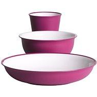 Omada Sanaliving Set 3pcs Fucsia - Kempingové nádobí
