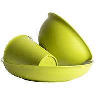 Omada Sanaliving Set 3pcs VerdeMela - Kempingové nádobí
