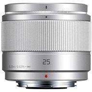 Panasonic Lumix G 25mm f/1.7 ASPH stříbrný - Objektiv